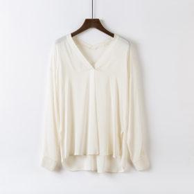 Elegant silkeskjorte