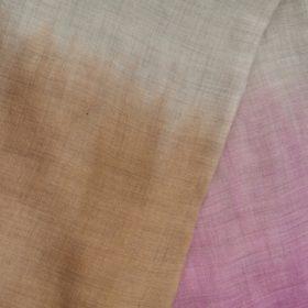 Cashmere sjal – der changerer i afstemte toner af beige, camel og gammelrosa