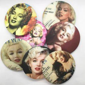 Smart håndtaske spejl med Marilyn Monroe
