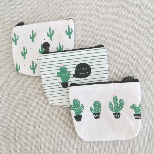 Kaktus pung med lynlås