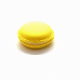 Charmerende macaron opbevaringsæske i gul