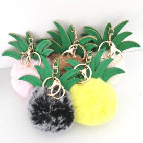 Ananas nøglering