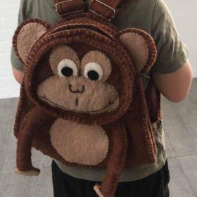 Håndfiltet rygsæk – model abe