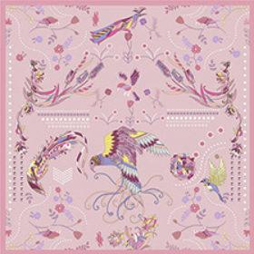 Fulgene flyver – rosa