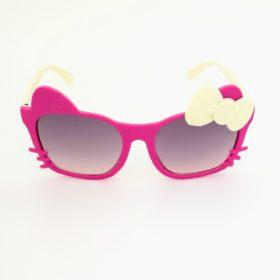 Børne solbriller   Model glad kat – fuchsia