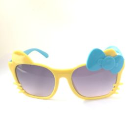 Børne solbriller   Model glad kat – gul