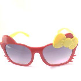 Børne solbriller   Model glad kat – rød