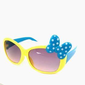 Børne solbriller   Model mini sløjfe – gul