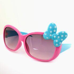 Børne solbriller   Model mini sløjfe – pink