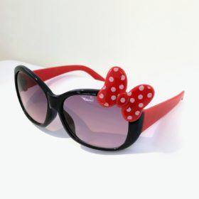 Børne solbriller   Model mini sløjfe – sort