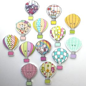 Luftballon – hvid bagside