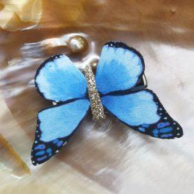 Smukke sommerfugle hårclips