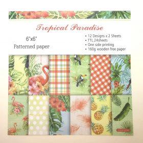 Design papir – tropisk paradis