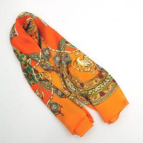 Eksklusivt silketørklæde