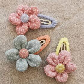 Blomster hårspænder