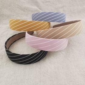 Skønne hårbøjler med striber