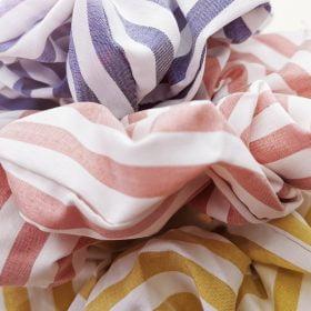 Stribede scrunchies